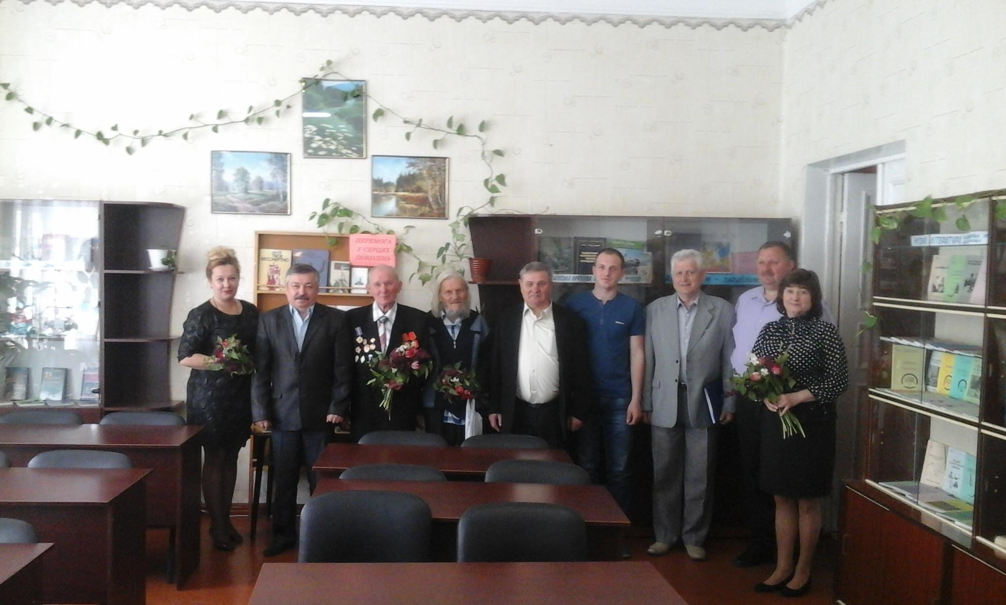 5 травня до Дня пам'яті та примирення  в бібліотеці Охтирського коледжу СНАУ