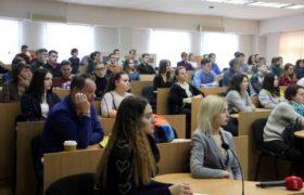 Презентація програм міжнародного співробітництва для кращих студентів коледжів СНАУ.